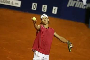 Un jovencísimo Nadal debutó en el torneo de Buenos Aires en 2005