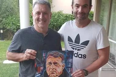 Aquí, con el Tata Gerardo Martino