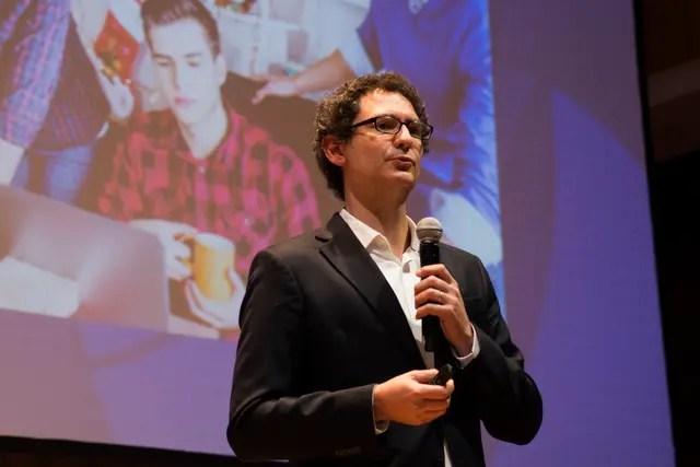 El secretario de Emprendedores y PyMEs del Ministerio de Producción de la Nación, Mariano Mayer, habló ante 1500 emprendedores