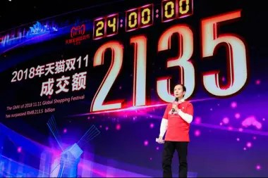 The CEO of Alibaba Group for Daniel Zhang, the electronic commerce will continue to rise in China; 17.5% of total sales today