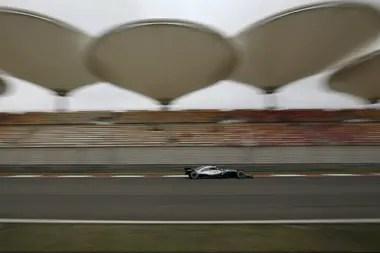 Una vista del autódromo de Shanghai, que este año no recibiría la prueba de la máxima categoría