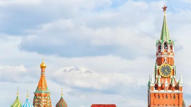 La torre del Kremlin en Moscú