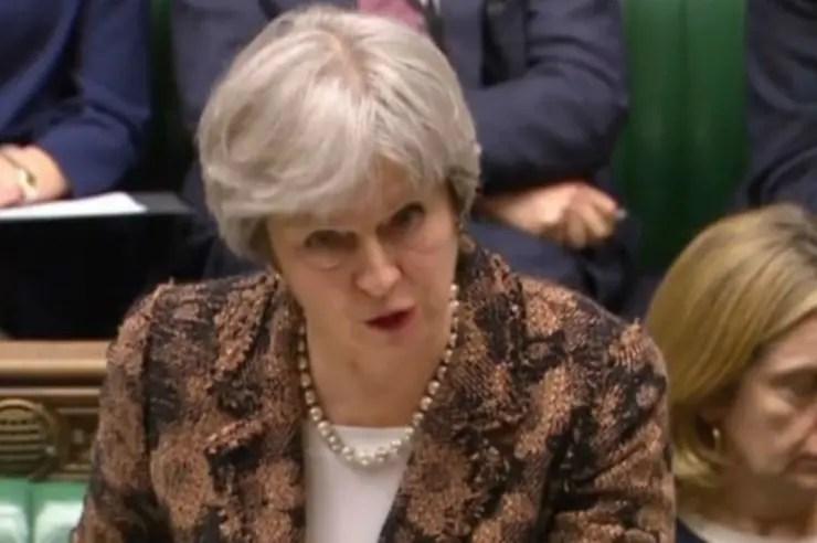 """La primera ministra británica,Theresa May, aseguró que es """"altamente probable"""" que Rusia esté detrás del ataque contra Skripal y su hija"""