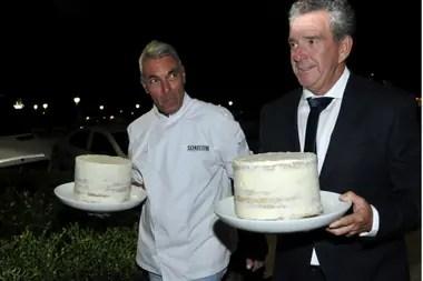No podían faltar las tortas para celebrar los 93 años de Mirtha Legrand