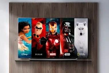 Disney+ estará disponible en los televisores con Android TV, webOS de LG y Tizen de Samsung