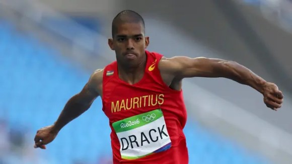 Jonathan Drack de Mauricio, triple salto masculino