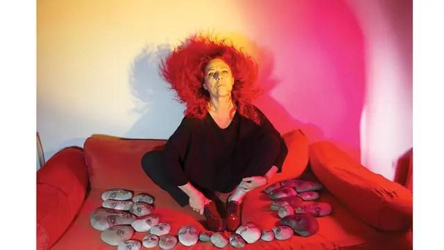 Renata Schussheim y la llamarada de su pelo