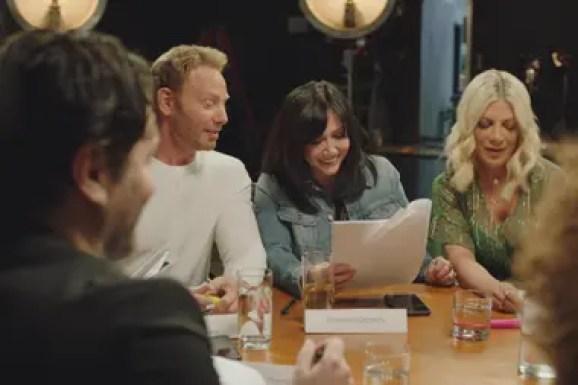 Los actores de Beverly Hills 90210 se preparan para el regreso a la pantalla