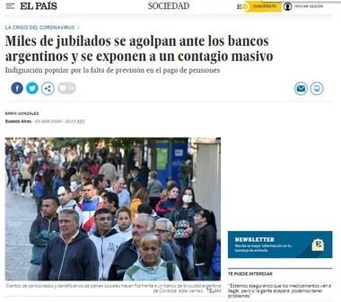 El artículo de El País