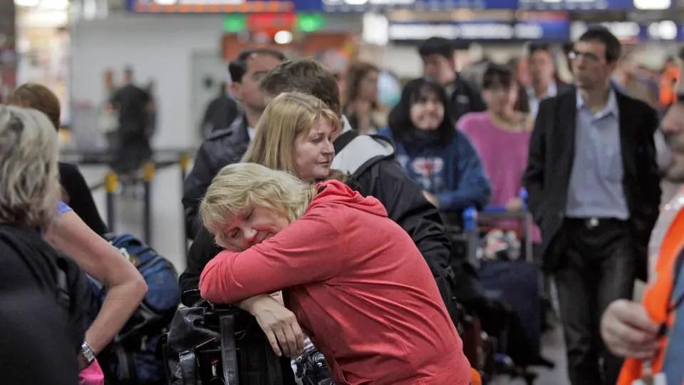 Demoras Y Cancelaciones En Aeroparque Por Un Paro
