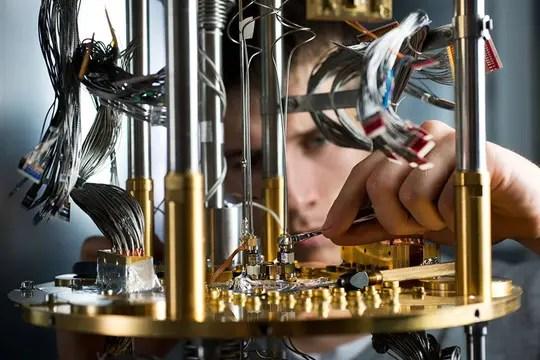 Uno de los equipos de D-Waze, la compañía que desarrolló la primera computadora cuántica comercial