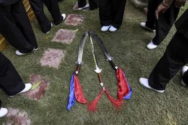 Las monjas viajan por todo el sur de Asia para impartir clases de autodefensa