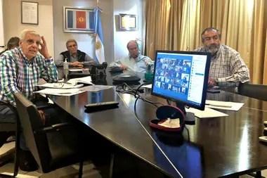 La CGT tuvo una conferencia virtual con los empresarios de AEA