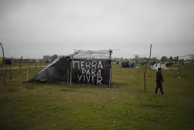 En la provincia de Buenos Aires hay 80 tomas de tierras activas