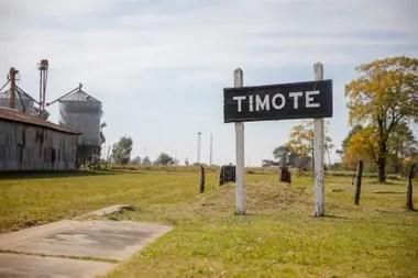 Timote es una pequeña localidad del partido de Carlos Tejedor, provincia de Buenos Aires
