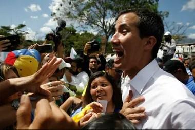Juan Guaidó afirmó que los voluntarios y son más de 600.000