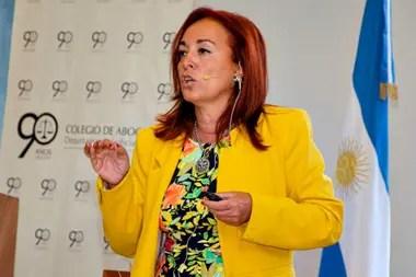 La fiscal Gabriela Boquín