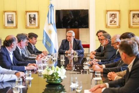 En medio del cruce por las retenciones, Alberto Fernández recibirá a la Mesa de Enlace