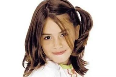 La pequeña Lali Espósito, cuando todavía no era La Ligera