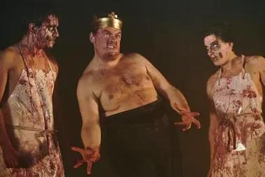 Macbeth, dirigido por Heiner Müller, en el Berliner Ensemble