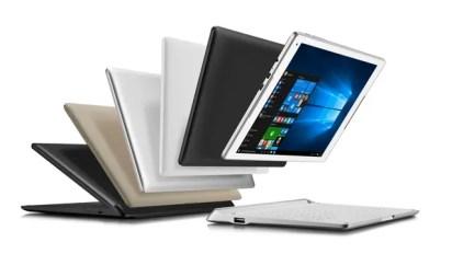 Alcatel también presentó una tableta con teclado desmontable, que incluye una antena 4G