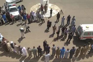 La entrega de los restos, en Sudán