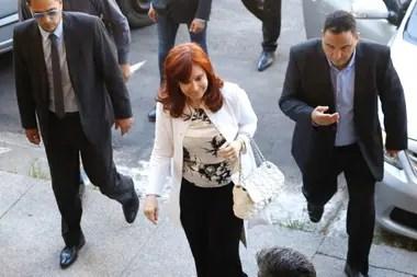 Cristina Kirchner, en su última presentación en Comodoro Py