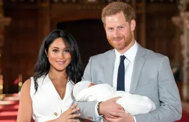 Meghan y Harry se casarón en mayo de 2018. Al poco tiempo, nació su primer hijo.