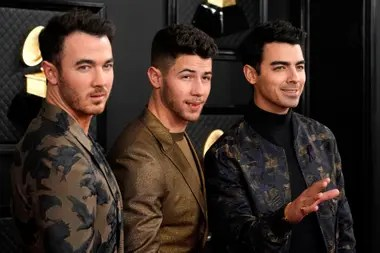 Kevin Jonas, Nick Jonas and Joe Jonas. Grammy 2020