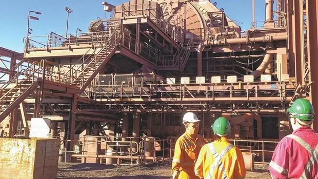 BHP redujo los planes de expansión de su mina de cobre Olympic Dam, en Australia.
