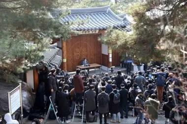 Lee Man-hee, líder de la Iglesia de Jesús Shincheonji se disculpó el 2 de marzo por el rol de institución en la propagación del Covid-19 en el país