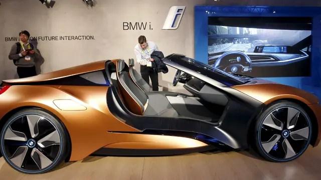 Un modelo conceptual de BMW, que permite algunas funciones con gestos