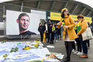 Emiliano Sala falleció al desplomarse la avioneta que lo trasladaba de Nantes a Cardiff