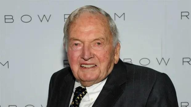 David Rockefeller falleció a los 101 años.