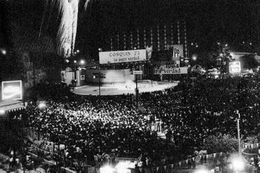 Festival de Cosquín de 1973, cuando ya iba camino de convertirse en un clásico del folclore