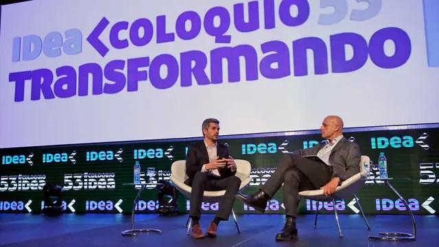 Marcos Peña, entrevistado por Carlos Pagni en el Coloquio de Idea