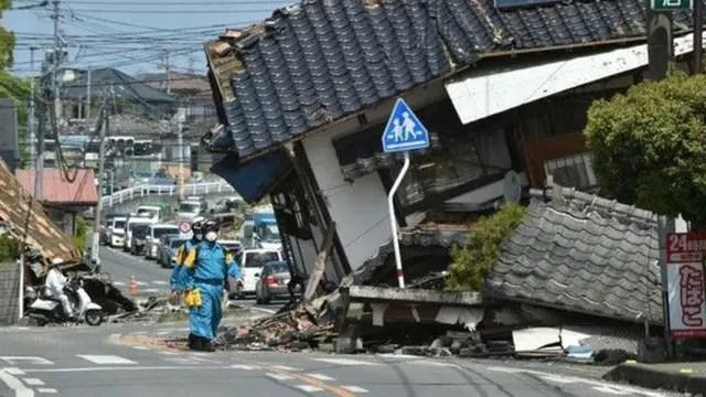 El sismo de 7,0 en la isla japonesa de Kyushu provocó 42 víctimas fatales