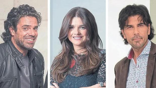 Luciano Castro, Araceli González y Juan Darthés, triángulo de Los ricos no piden permiso