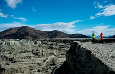 Se proyecta la instalación de un sistema de monitoreo como el de los volcanes activos