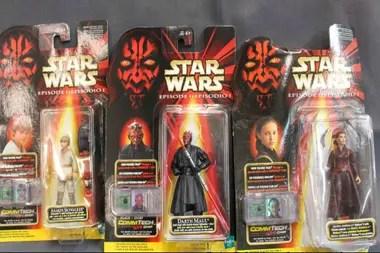 La segunda trilogía explotó en términos de merchandising