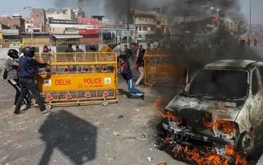 Al menos 11 personas han muertos tras los disturbios en Nueva Delhi
