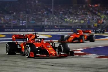 Vettel guía a Leclerc, una imagen que fue perdiendo fuerza en la temporada 2019
