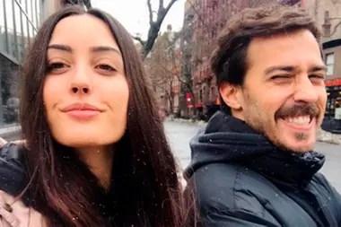 Mientras Johanna acaba de debutar en cine junto a su padre, Nicolás está grabando a tercera temporada de Altamar, en España