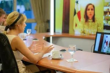 En el encuentro evaluaron las actividades realizadas por La Asociación de Las Primeras Damas de América Latina (ALMA)