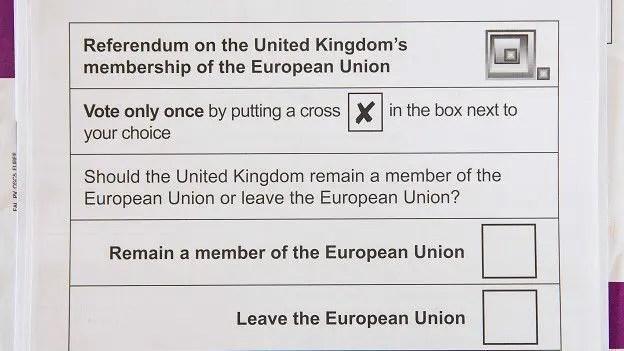 Los británicos tendrán que elegir entre el voto