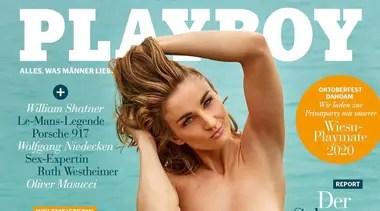 """Consultada sobre si pudo ver las sensuales fotos que hizo para Playboy, Elena Krawzow dijo: """"Puedo ver las imágenes si puedo ampliarlas, por ejemplo, en mi iPhone o iPad. En la revista no es tan fácil ver las imágenes en su conjunto""""."""