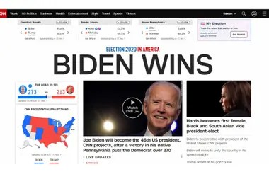 Portal web CNN