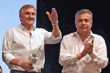 Gerardo Morales y Alfredo Cornejo