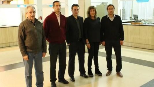 De izquierda a derecha: Testa, Salinas, Ralinqueo, Ticero, Farina