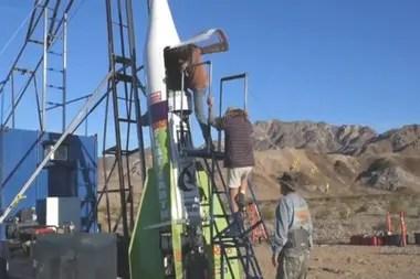 El cohete le costó a Hughes alrededor de US$18.000